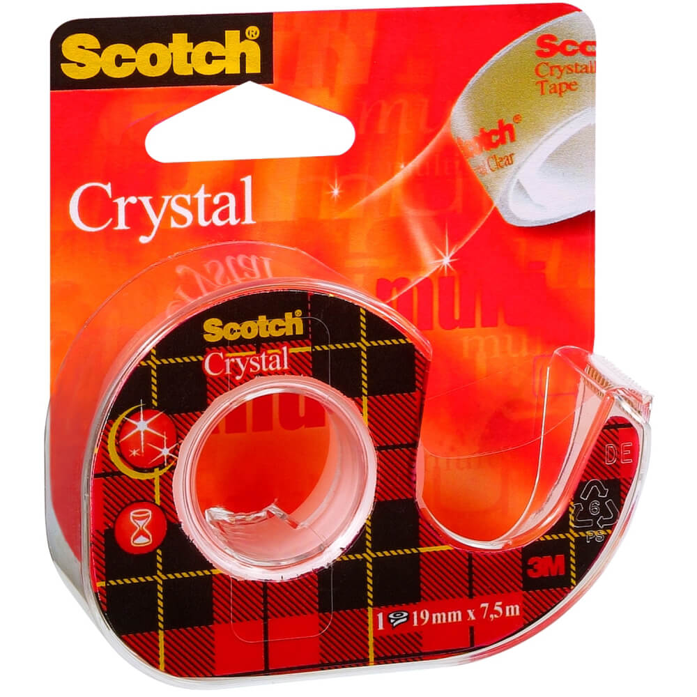 Scotch Kristal Bant (Kesicili) 19mm*7.5m 6-1975D