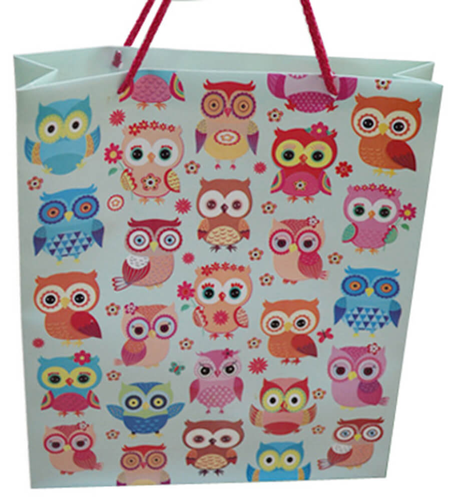 Deffter Lovely Bag No: 1 / Owls 64662-3