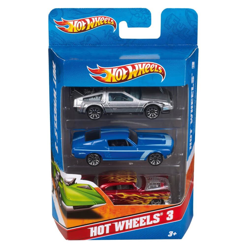Mattel Hot Wheels Üçlü Araba Seti K5904