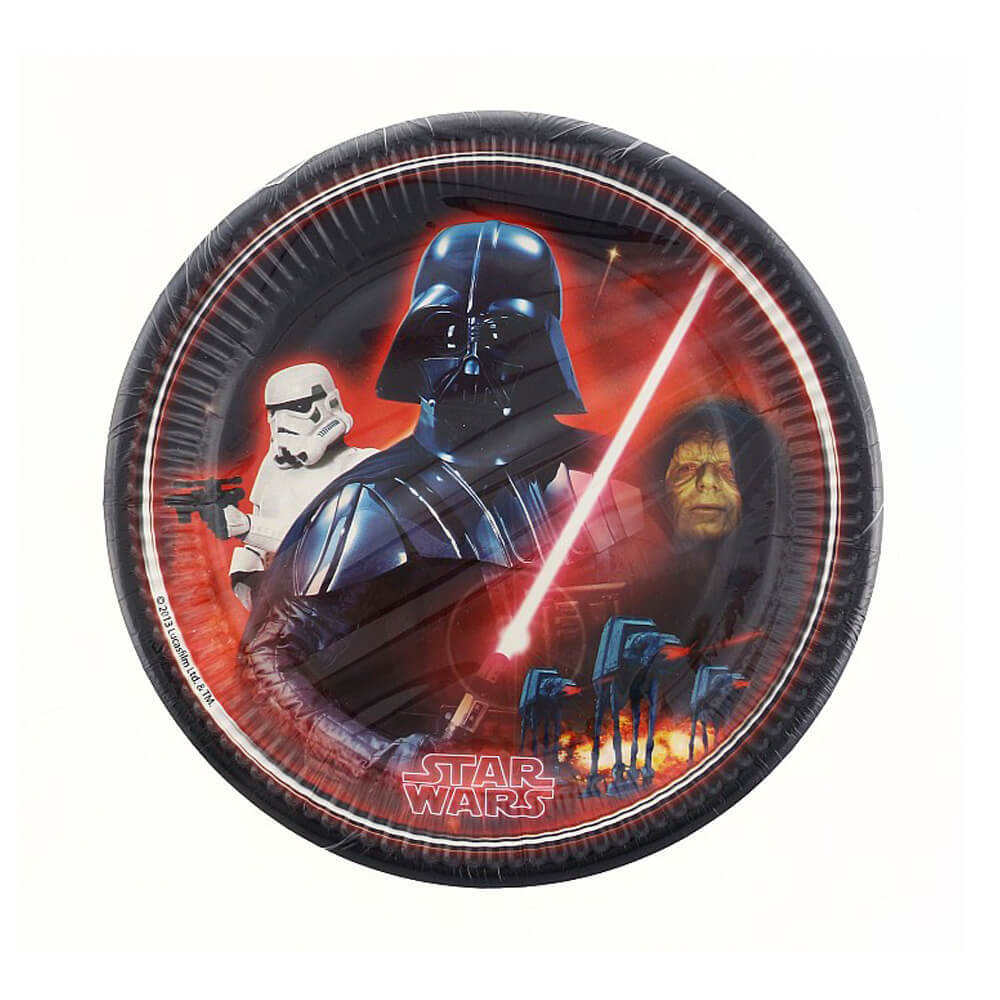 Star Wars and Heroes Tabak 23 cm ( 8'li) DNBE 844663