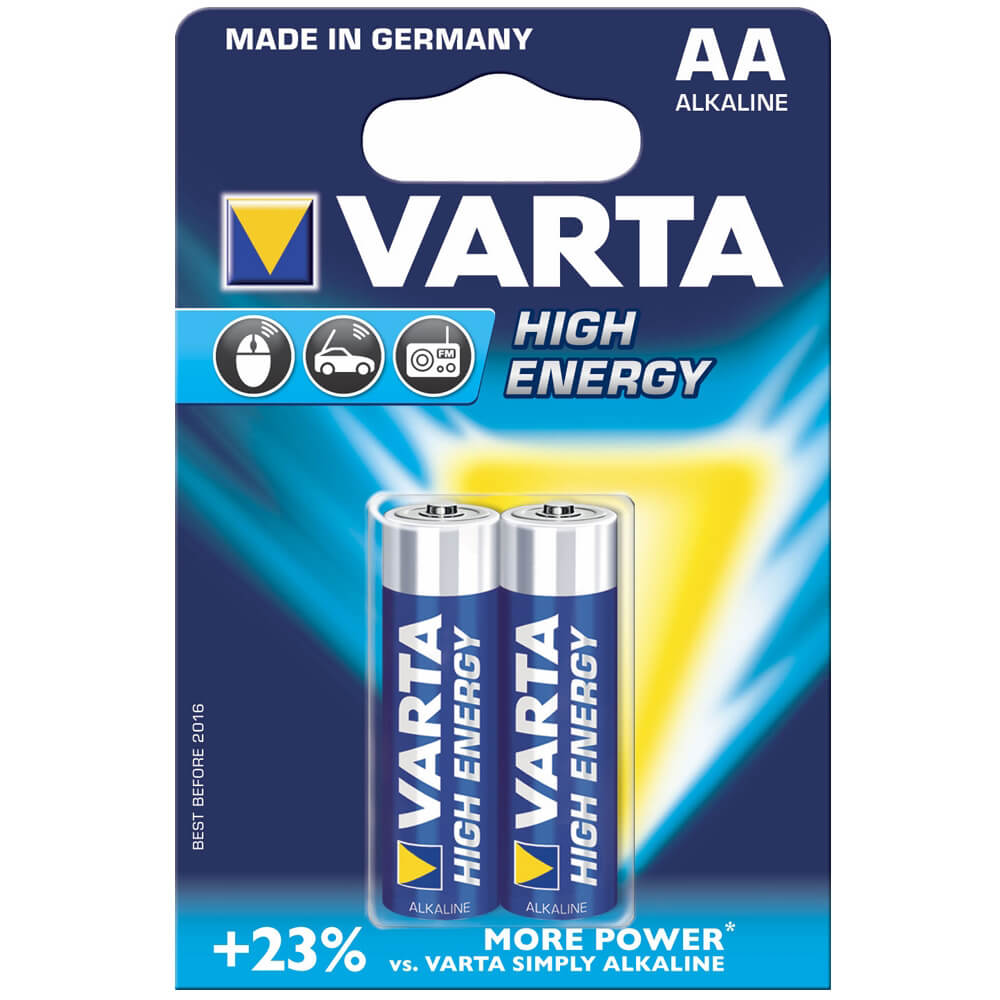 VARTA High ENERGY KALEM PİL AA 1,5 VL.