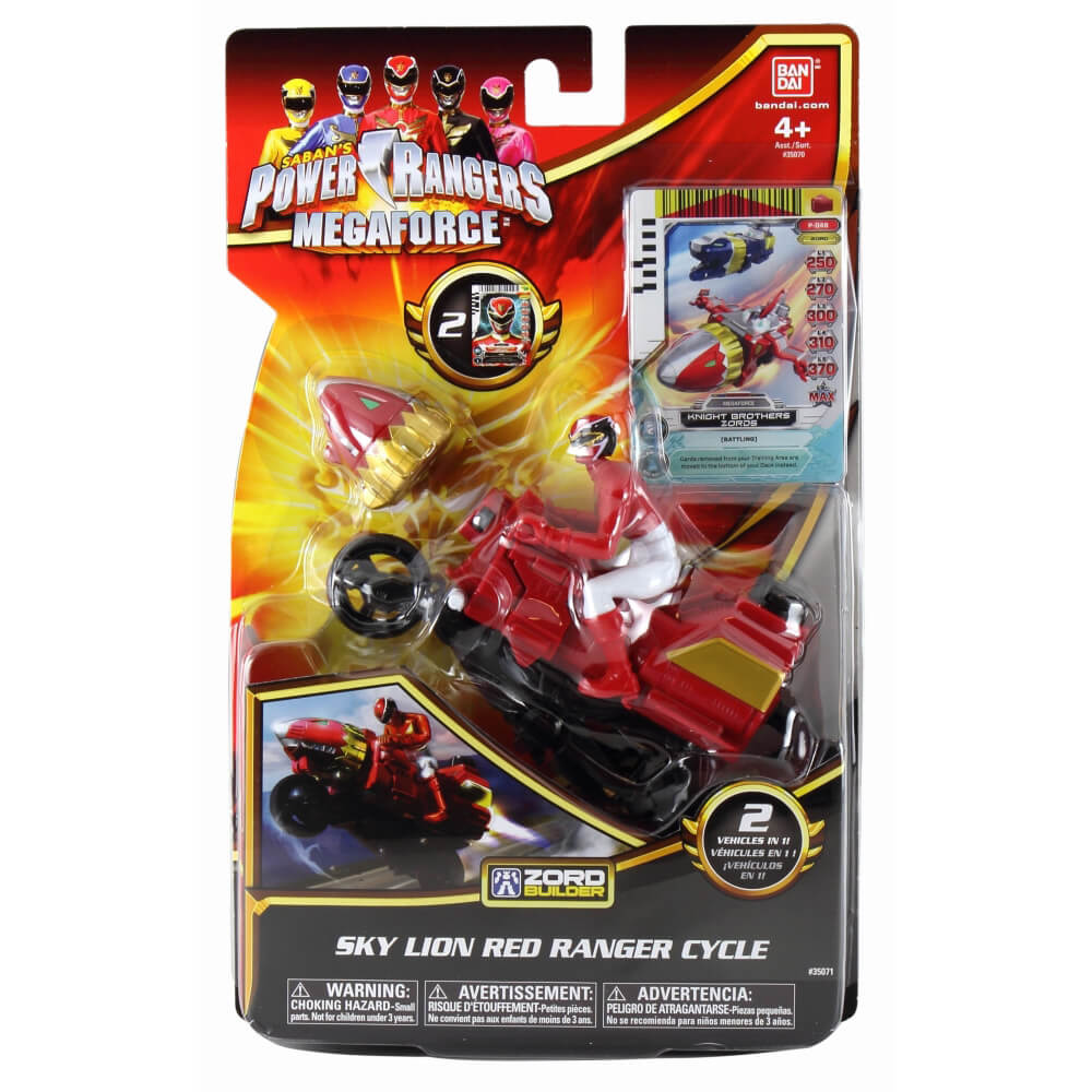 Adore Power Rangers Cycle with Figure 35070