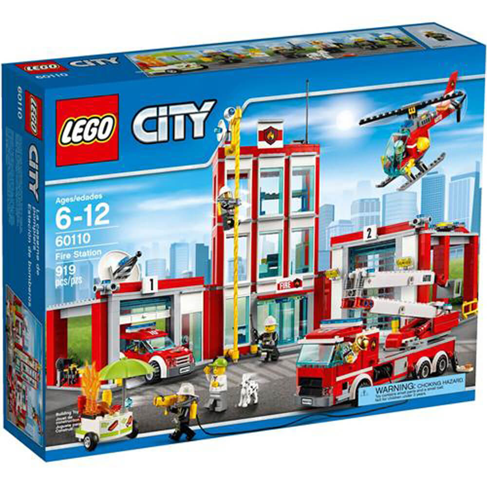 Lego Fire Station LSC60110