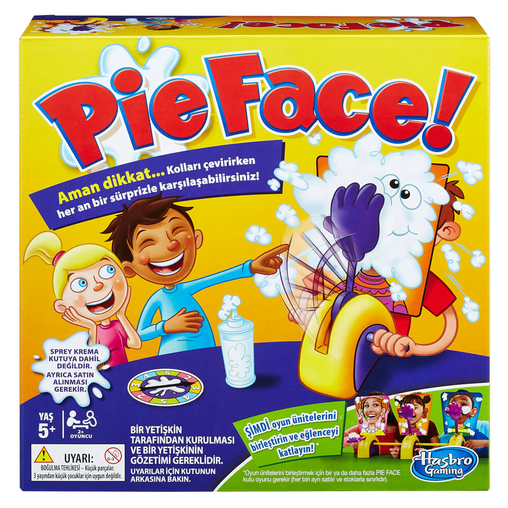 Hasbro Gaming Pie Face E2762