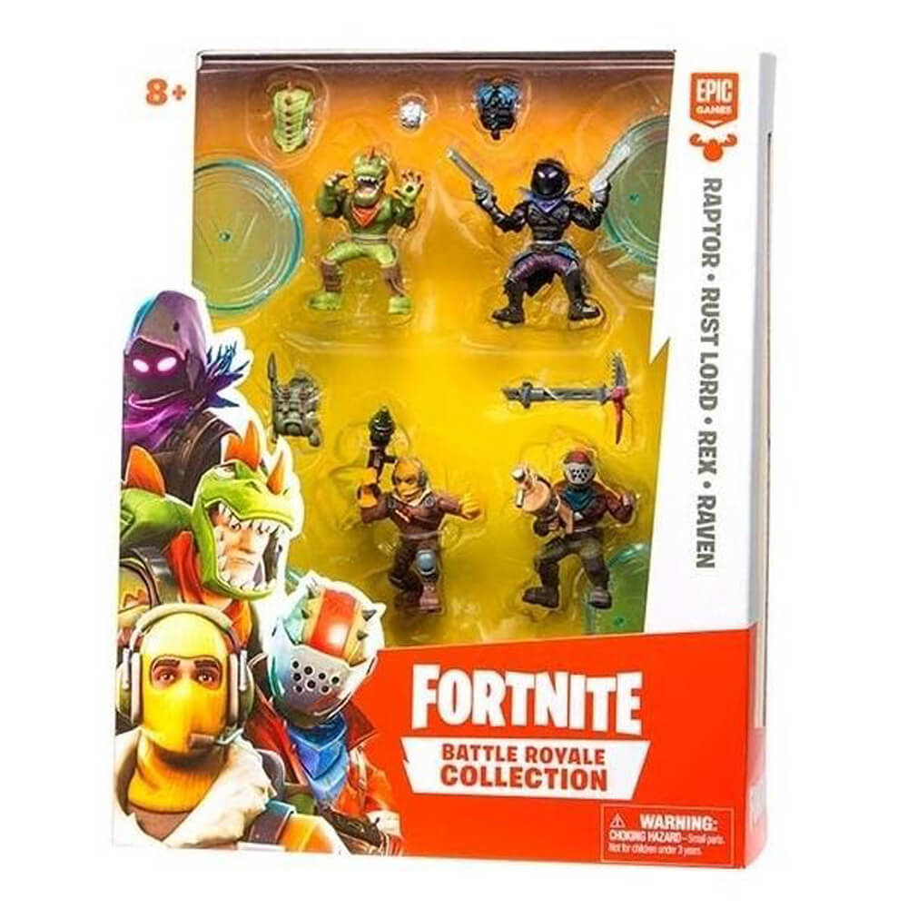 Fortnite Mini 4'lü Figür Seti 63508