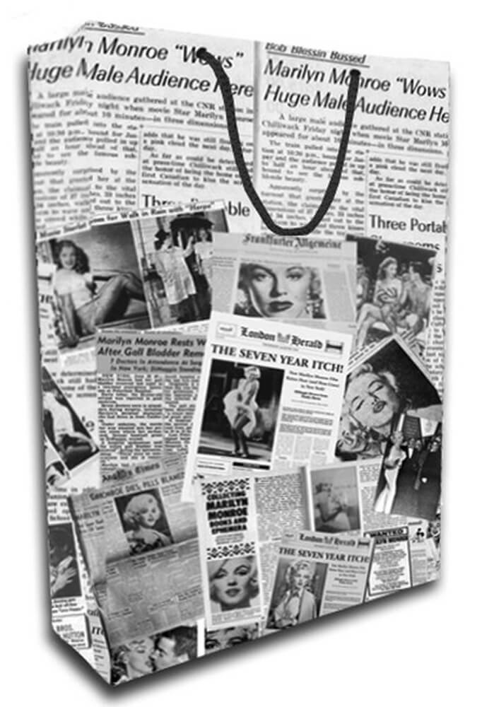 Deffter Lovely Bag No: 19 / Marilyn Journal 64654-8