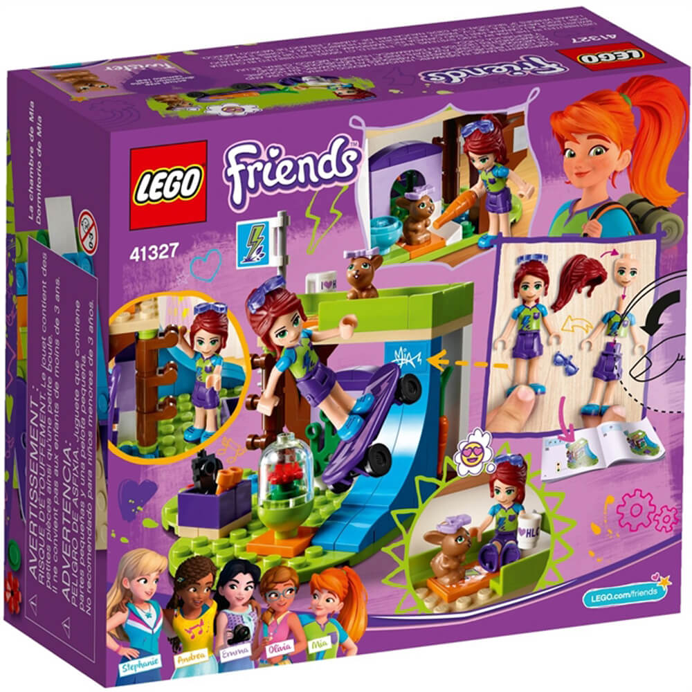 Lego Friends Mia's Bedroom LGF41327