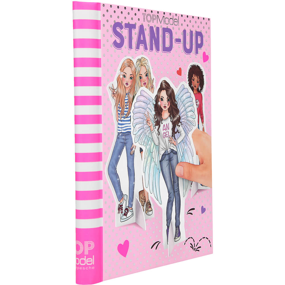 Top Model Stand Up Colouring Book