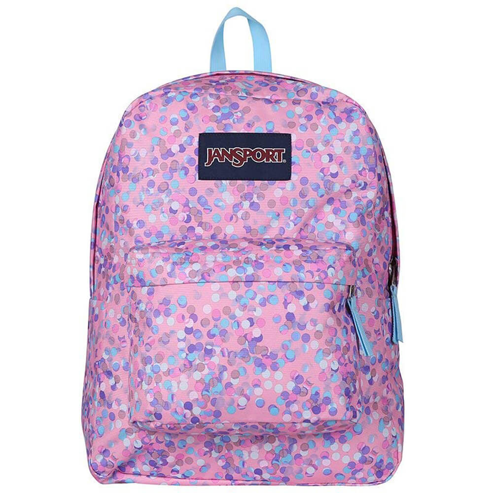 Jansport Superbreak Pink Sparkle Dot T5014Z8