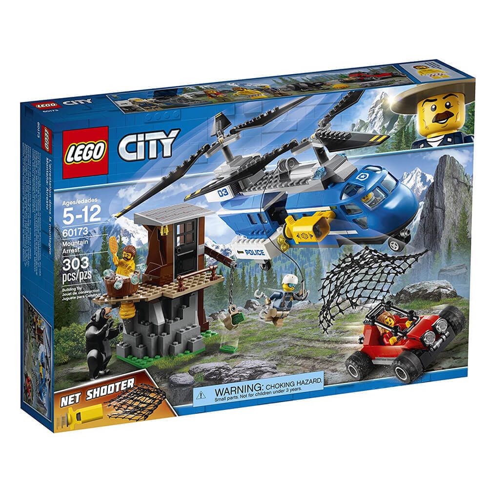 Lego Mountain Arrest LSC60173