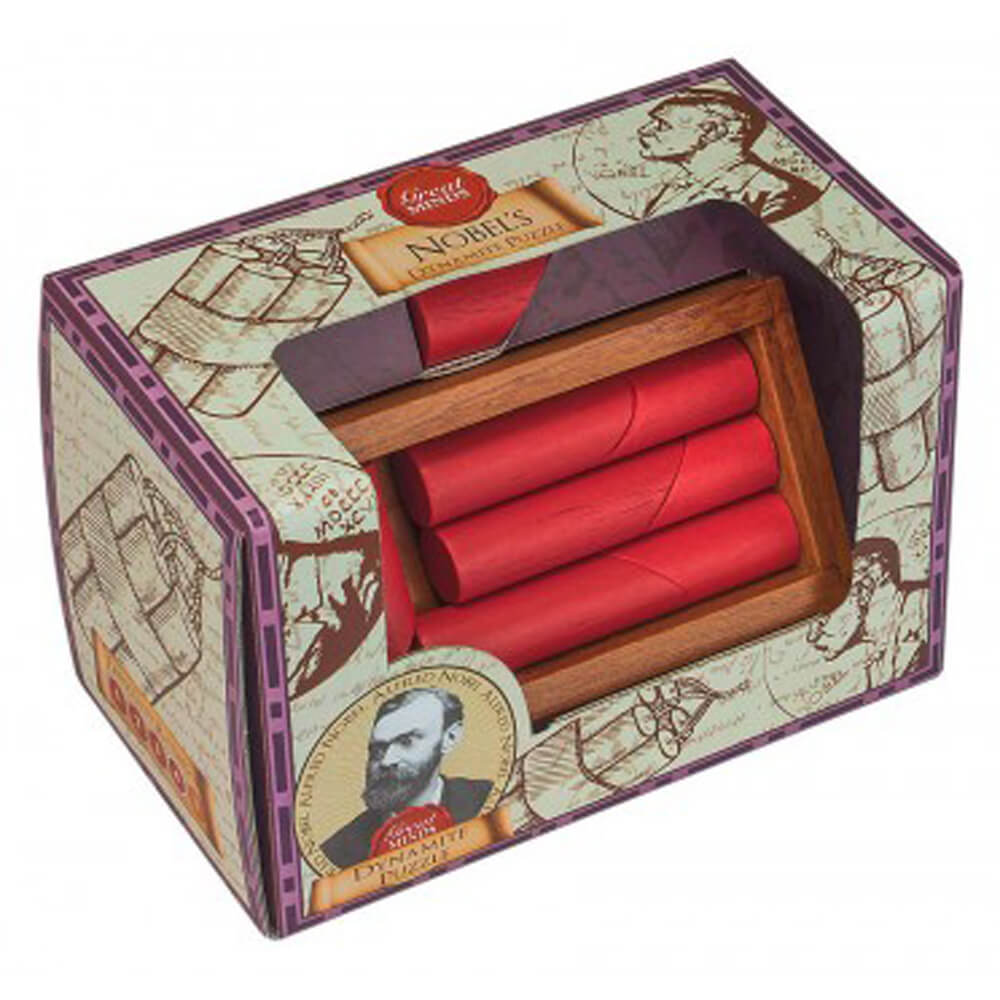 Alfred Nobel Dynamite Puzzle GM-11