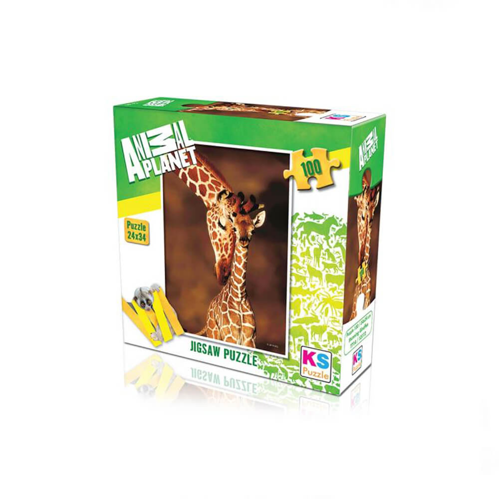 Animal Planet Puzzle Stunning Giraffes 100 Prç 10112