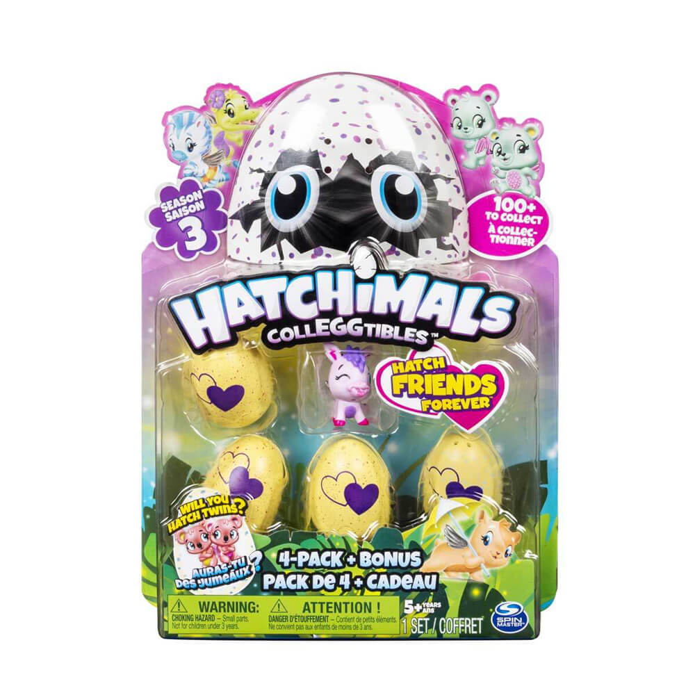 Hatchimals Colleggtibles Dörtlü Paket