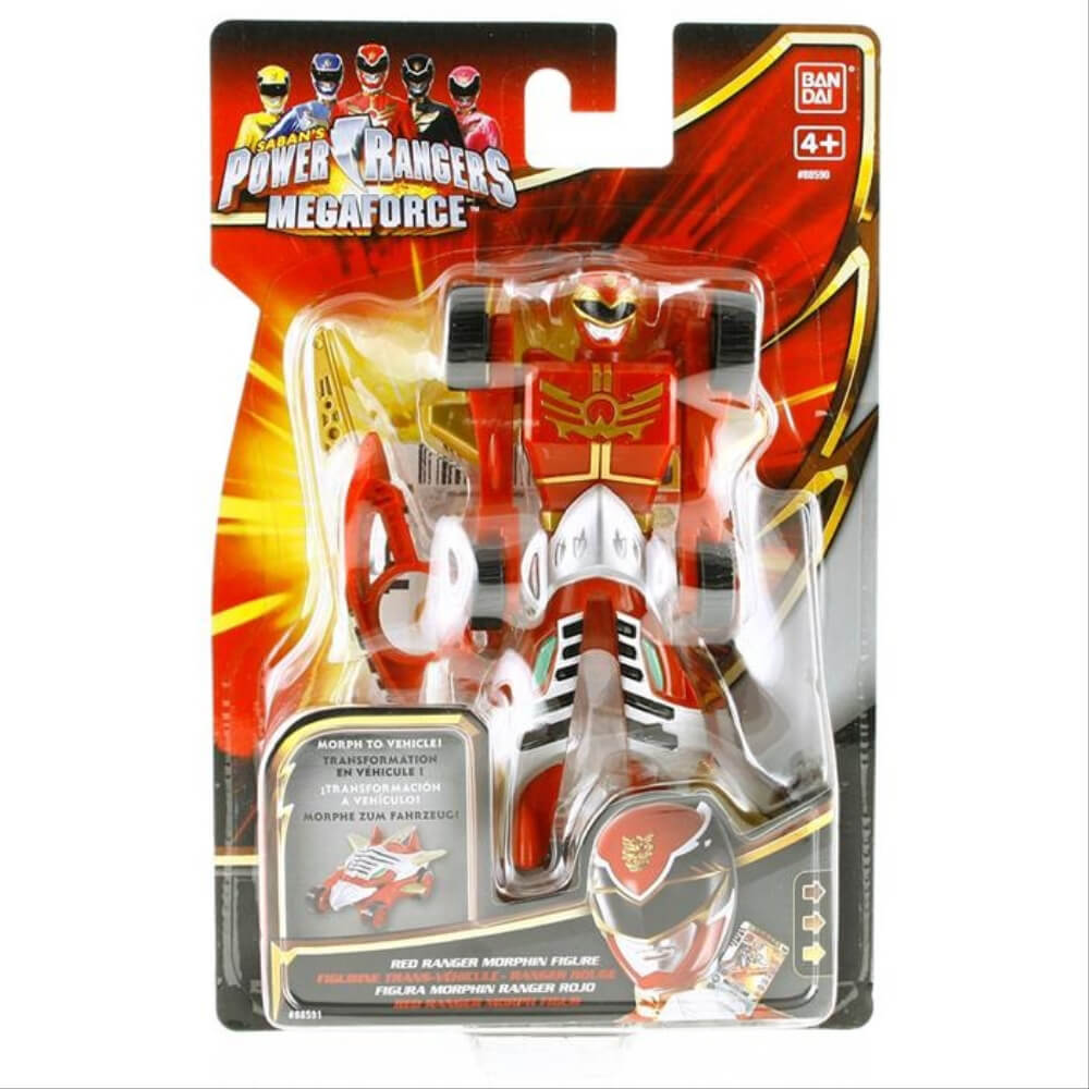 Adore Power Rangers Morphın Vehıcle Figure 88590