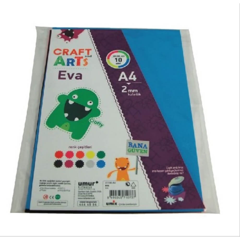 Craft and Arts Eva 10'lu A4 U1140-A4
