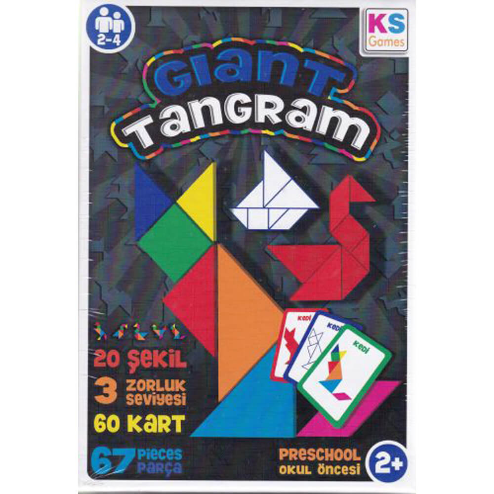 KS Games Giant Tangram GT239