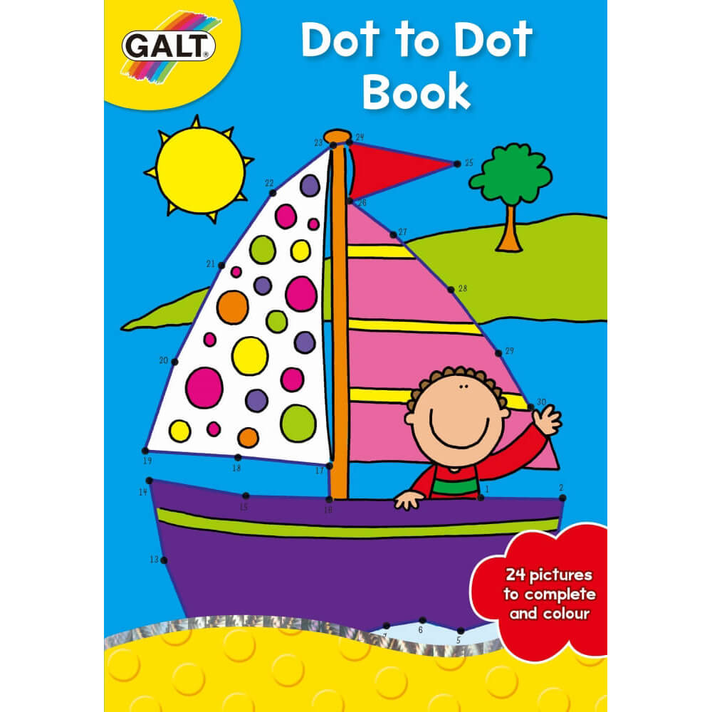 Galt Dot to Dot Book 5 Yaş+ A3071B