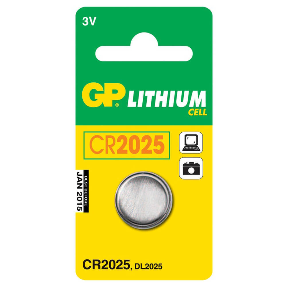 GP CR 2025 3V LİTYUM PİL