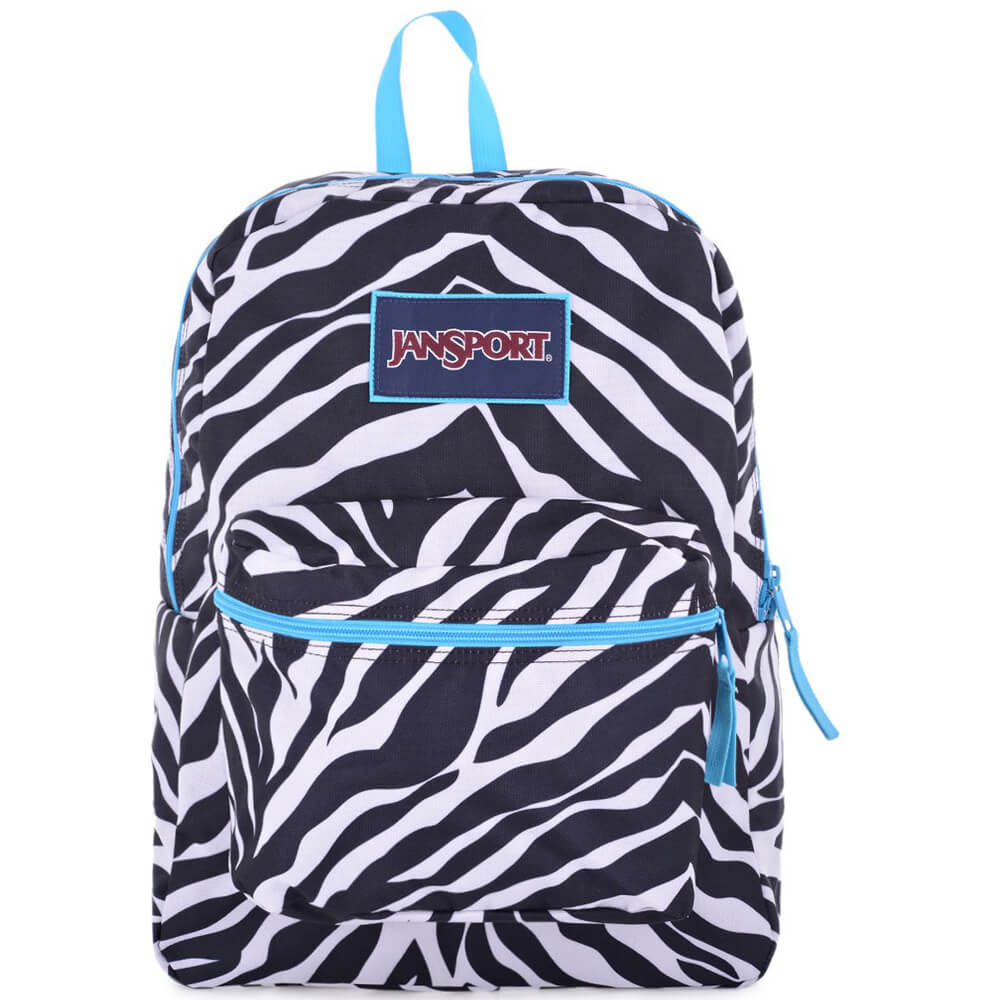 Jansport Overexposde Miss Zebra / Mblue T08W0CX