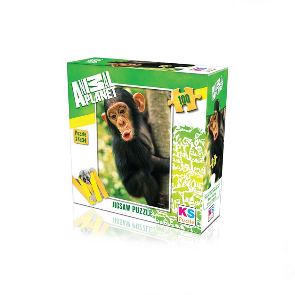 Animal Planet Puzzle Baby Chimp 100 Prç 10103