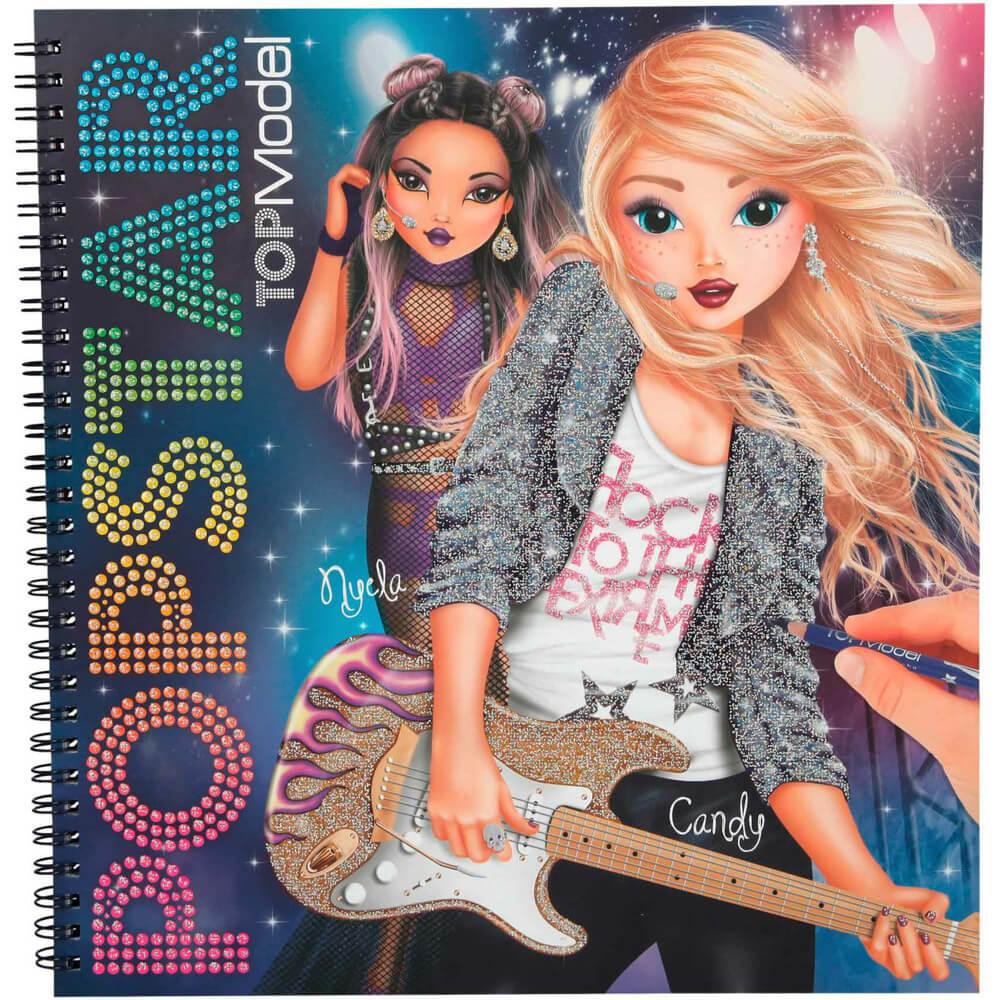 Top Model Popstar Boyama Kitabi Dk04324 Barker Kirtasiye