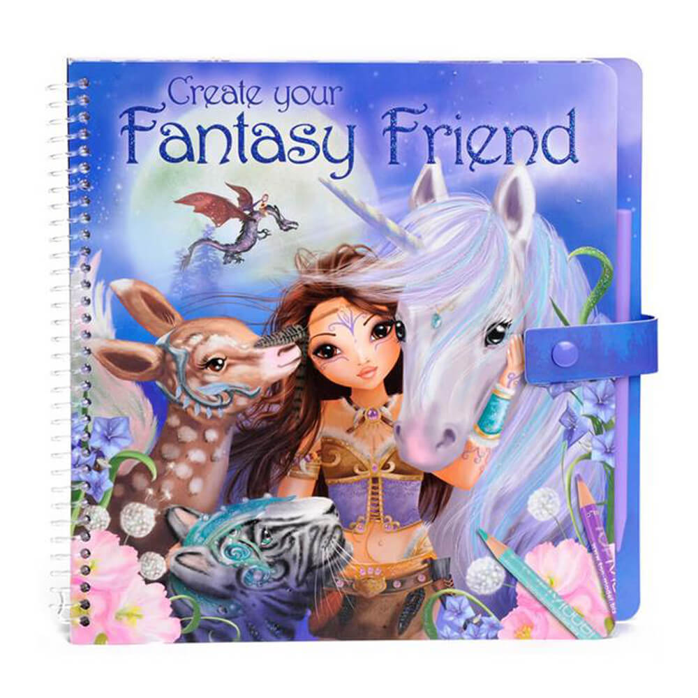 Top Model Fantasy Model & Friends Boyama Kitabı DK07847