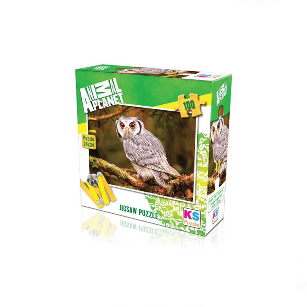 Animal Planet Puzzle Bengal Eagle Owl 100 Prç 10104