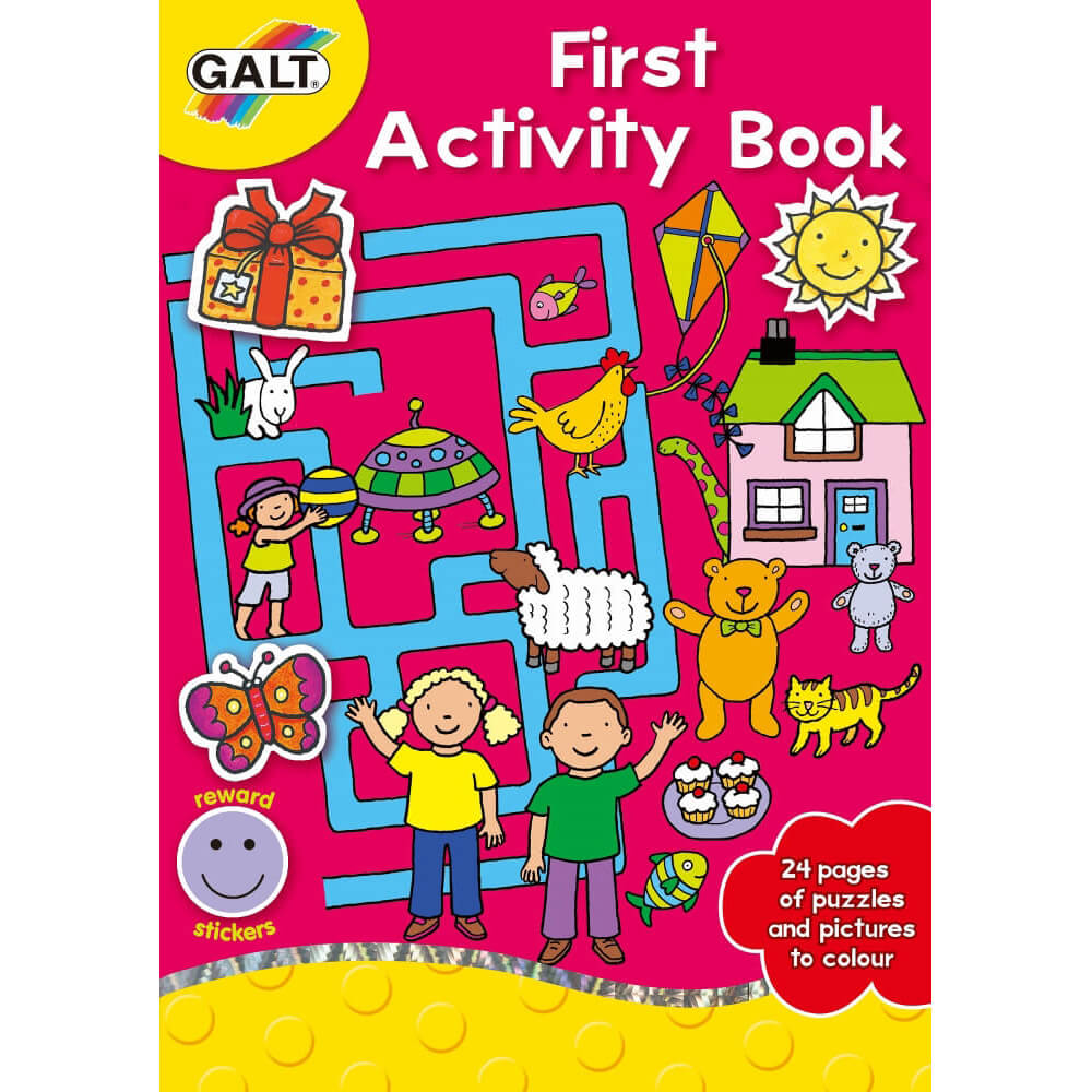 Galt First Activity Book 5 Yaş+ L3077A