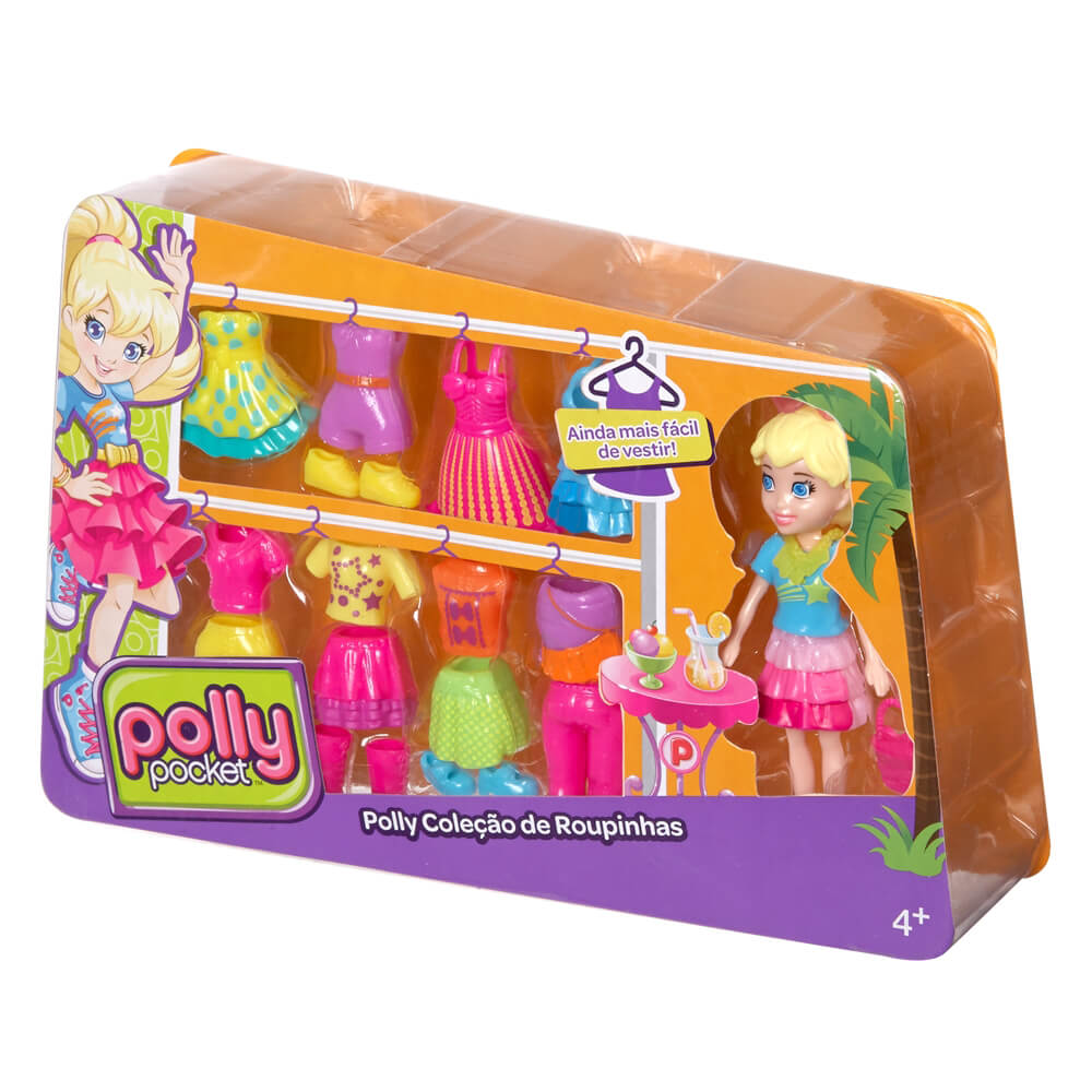 Mattel Polly Pocket Polly Moda Seti CFY28