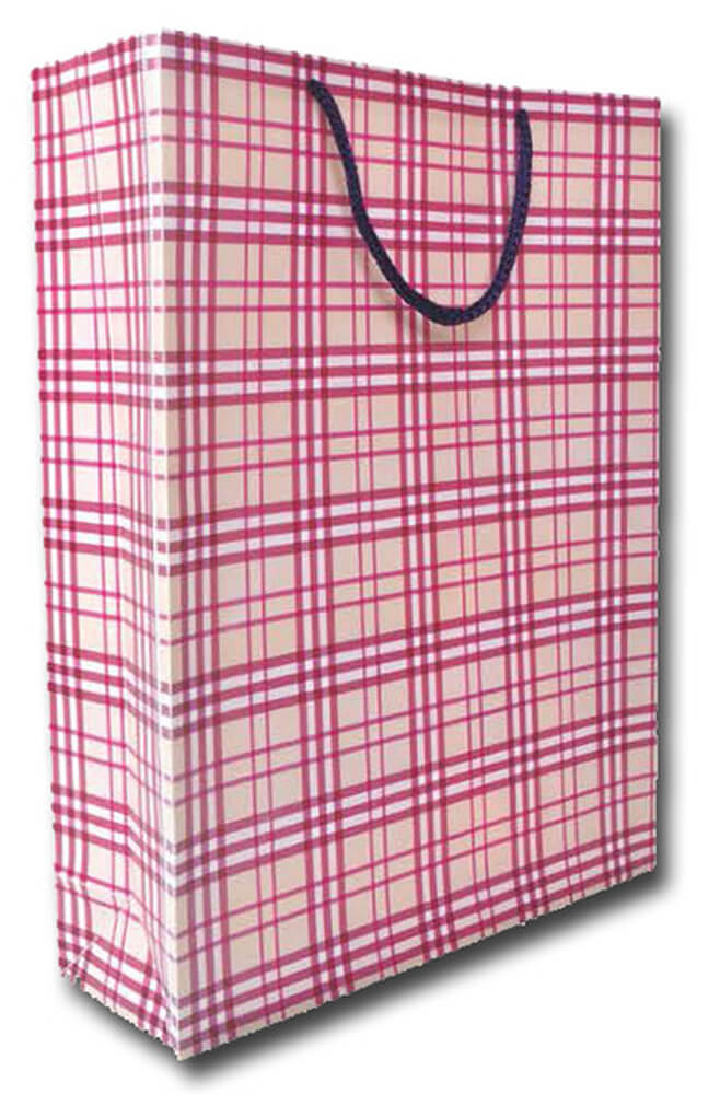 Deffter Lovely Bag No: 19 / Purple Plaid 64658-6