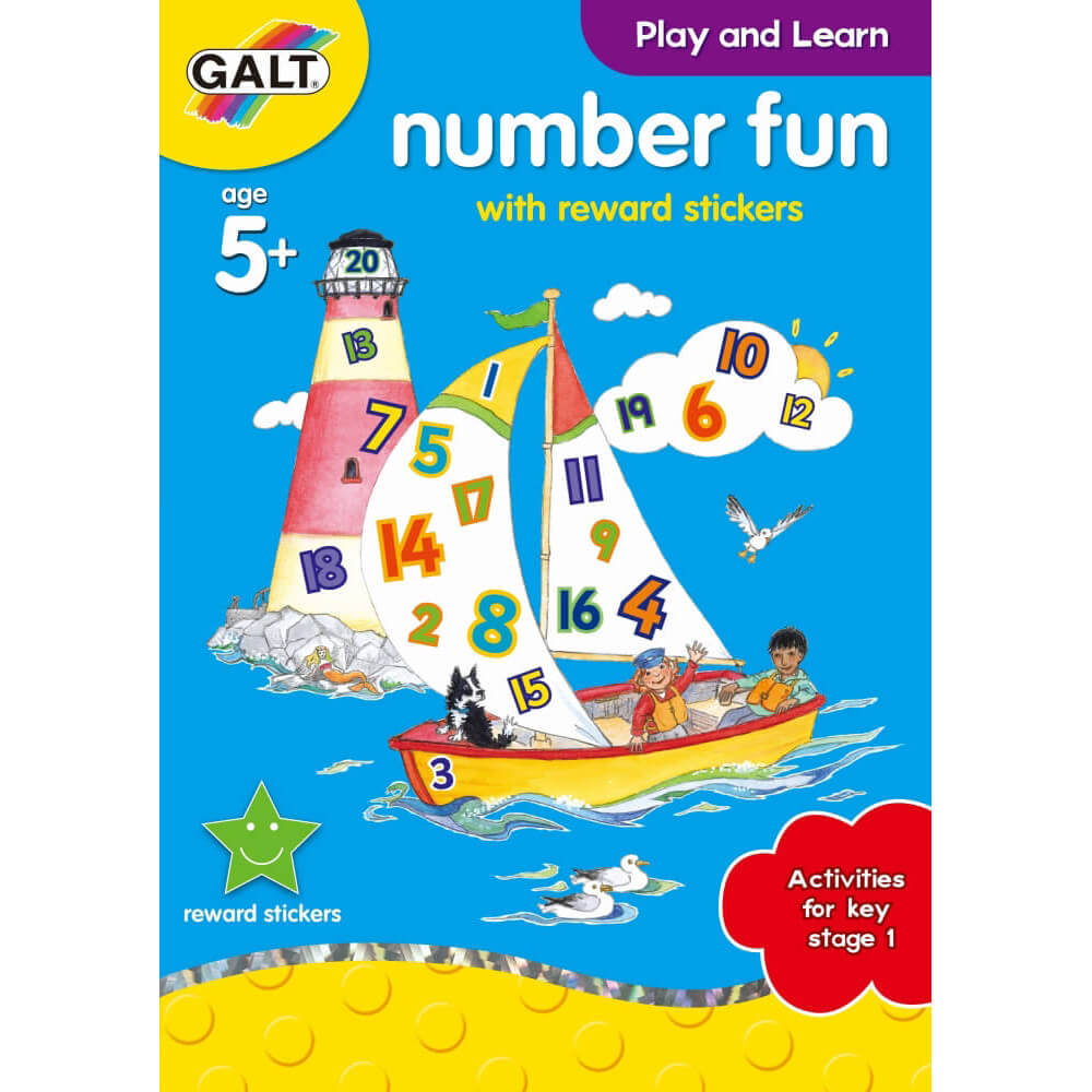 Galt Number Fun 5 Yaş+ L3143B