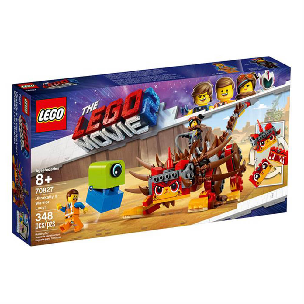 Lego LegoMovie 2 Ultrakatty Warrior Lucy LMV70827