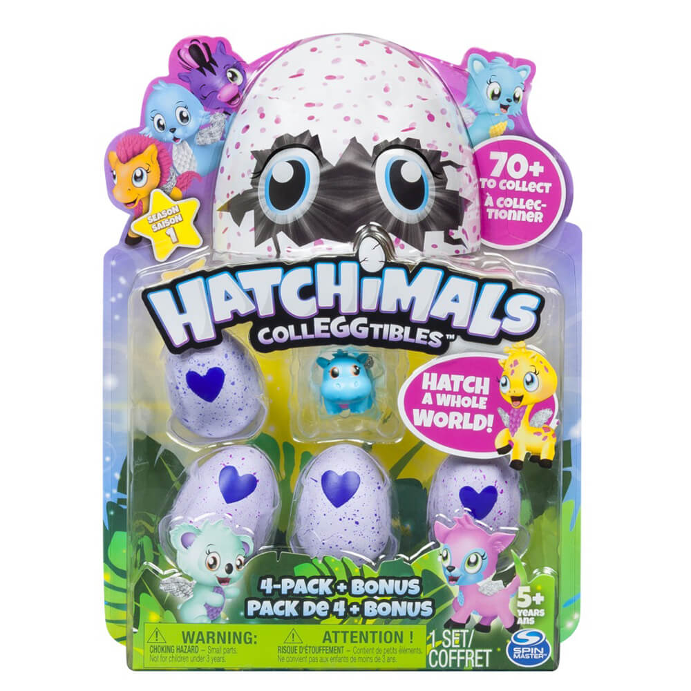 Hatchimals Colleggtibles Dörtlü Paket 19104