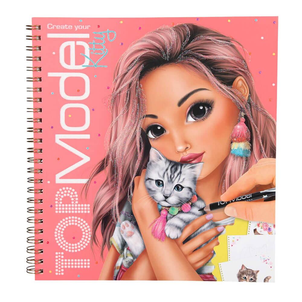 Top Model Kitty Boyama Kitabi Barker Kirtasiye