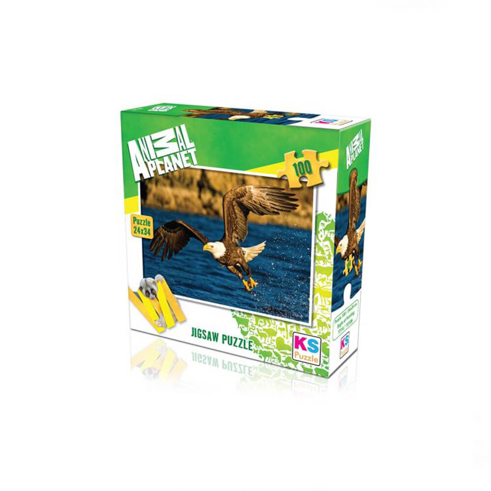 Animal Planet Puzzle Eagle at Hunting 100 Prç 10106