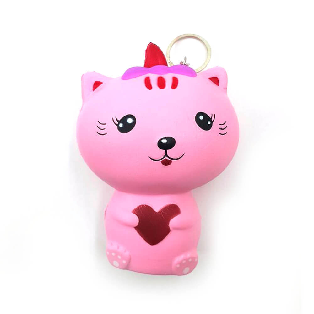 Squishy Anahtarlık Happy Cat ATL514