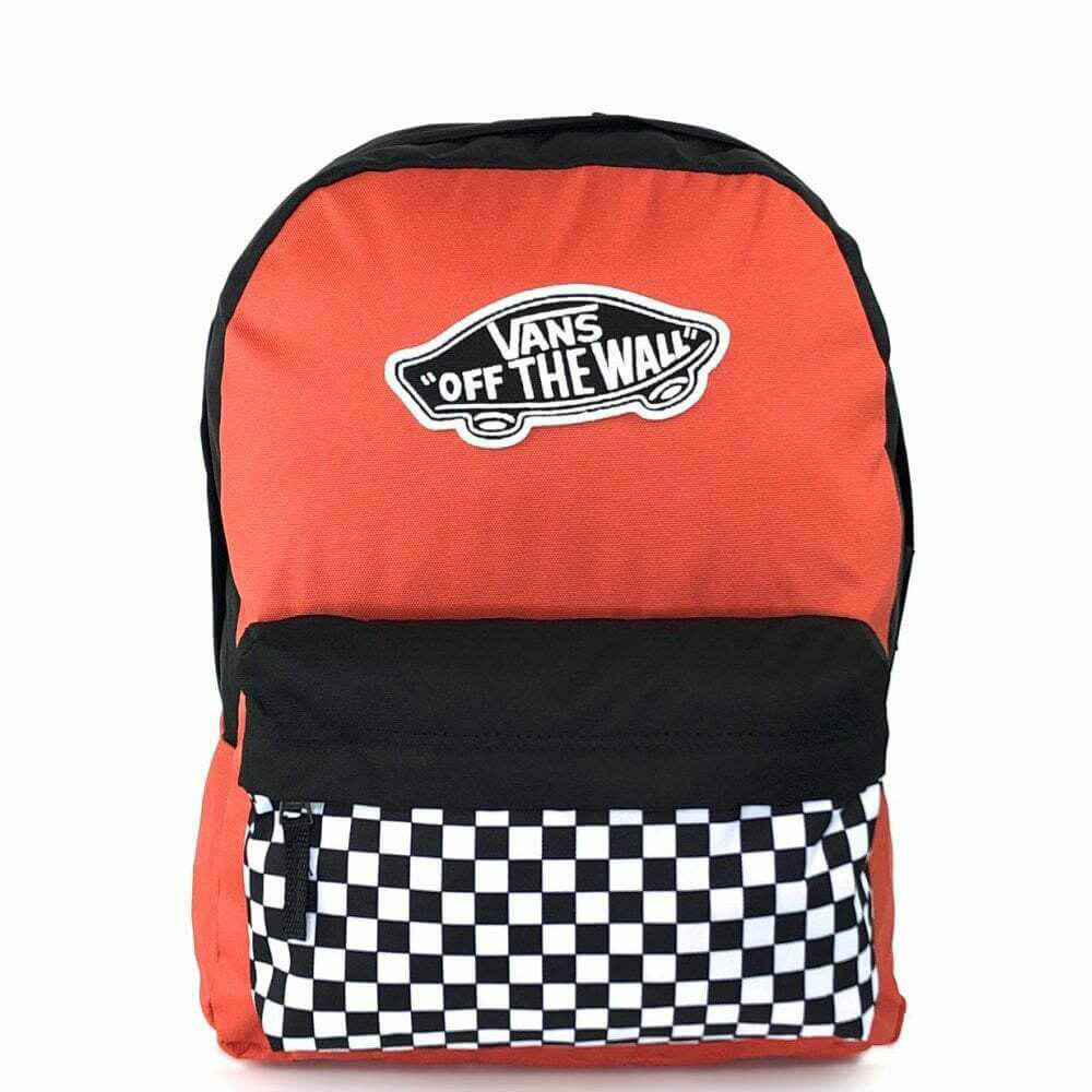Vans Realm Backpack Paprika-Checkerboard VN0A3UI6ZKF1
