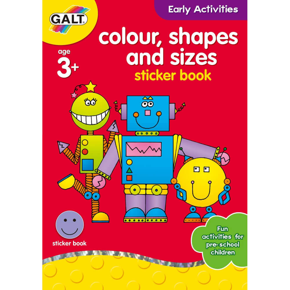 Galt Colour Shapes and Sizes 3 Yaş+ L3124F