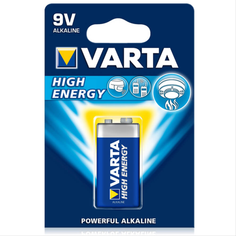 VARTA High ENERGY 9 VOLT PİL