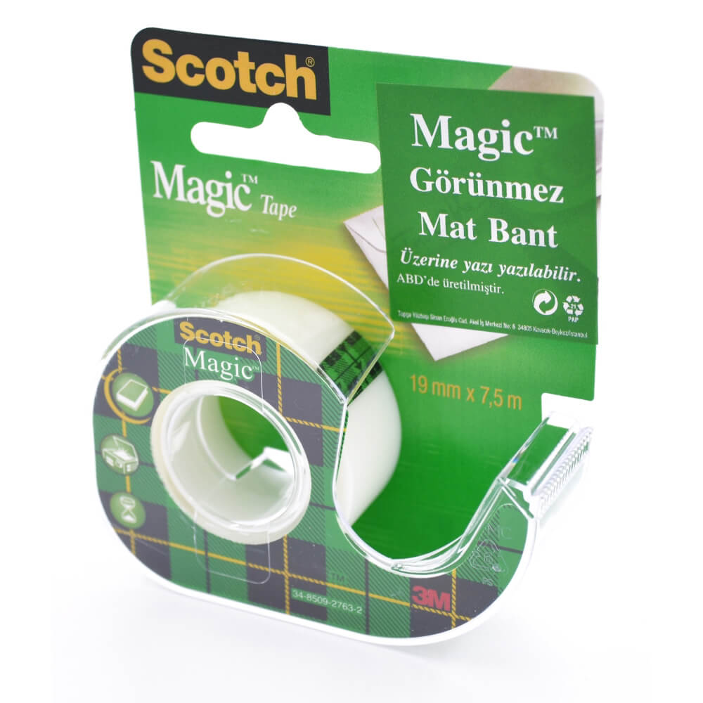 Scotch Magic Bant Kesicili 19mm x 7,5m 8-1975D