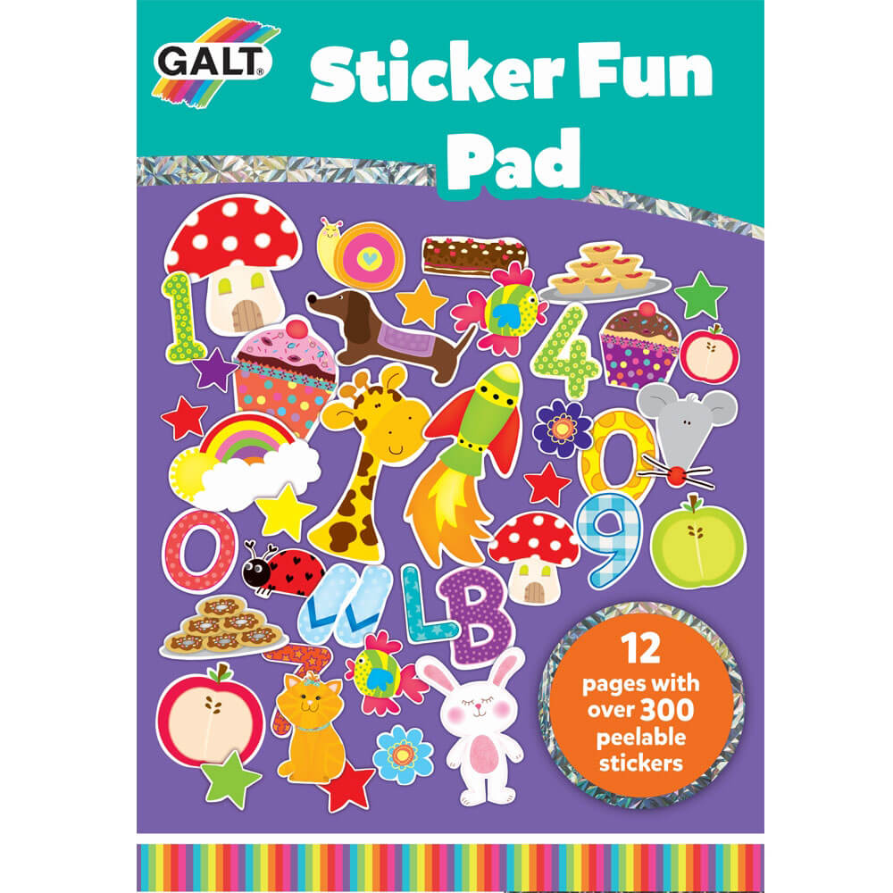 Galt Sticker Fun Pad 3 Yaş+ 1004033