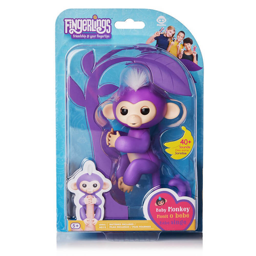 Fingerlings Parmak Maymunu 3700 Mor
