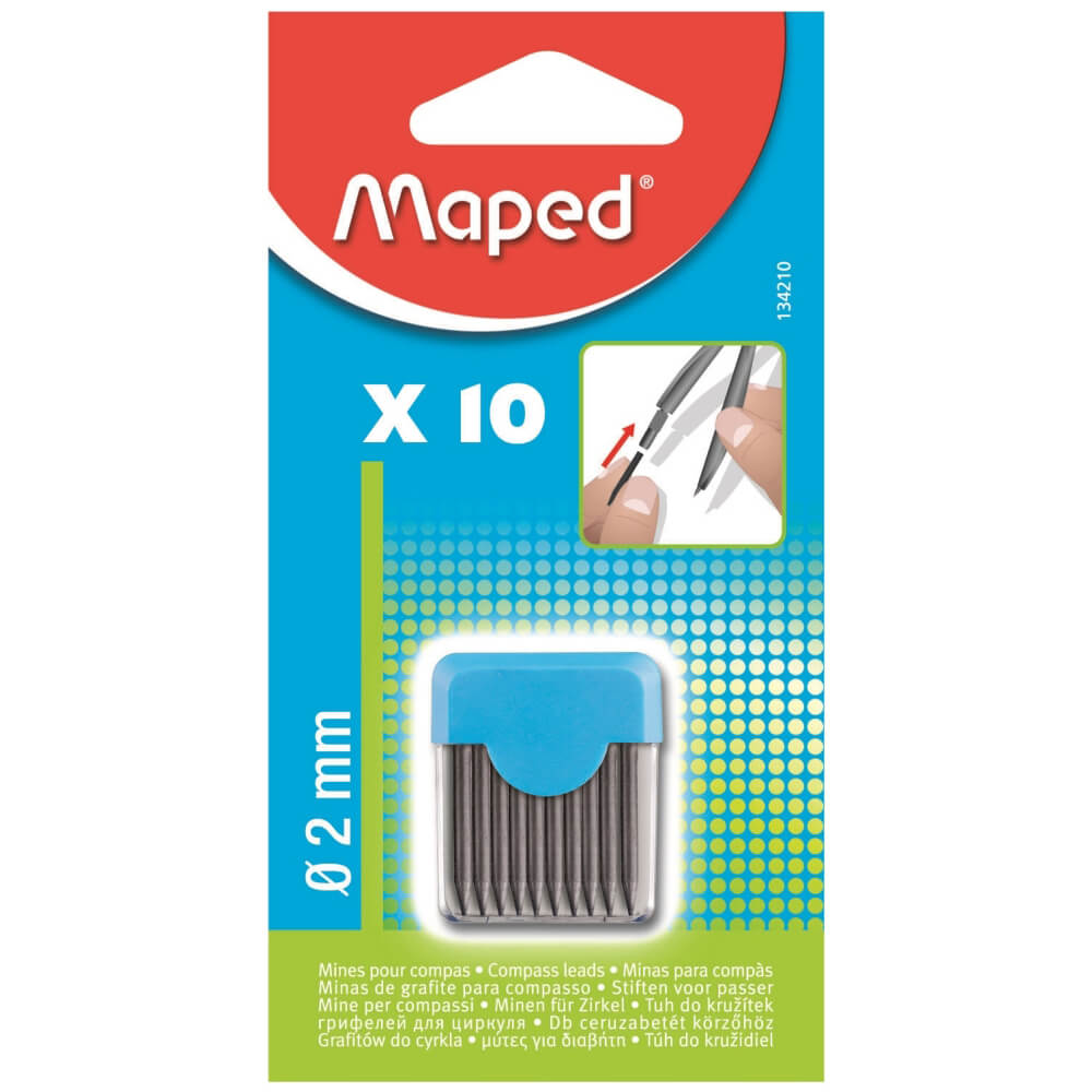 Maped Pergel Ucu 2mm 10'lu 134210