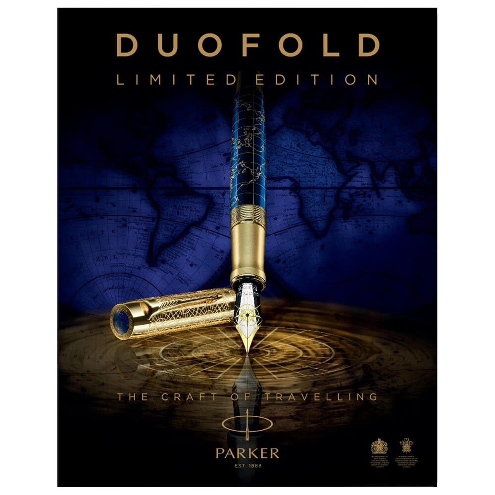 Parker Dolma Kalem Duofold Limited Edition 130.Yıl Craft of Travelling (M) Uç 2043691