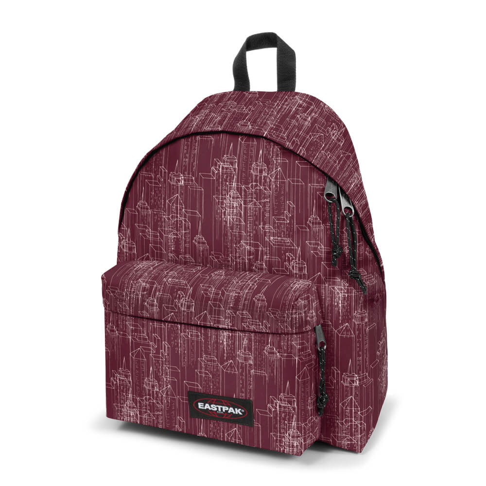 Eastpak Padded Pak'R (Merlot Blocks) EAS.EK62026Q